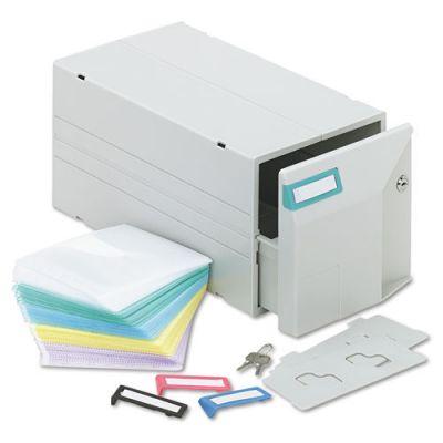 IVR39501 - Innovera CD\/DVD Storage Drawer; Holds 150 Discs