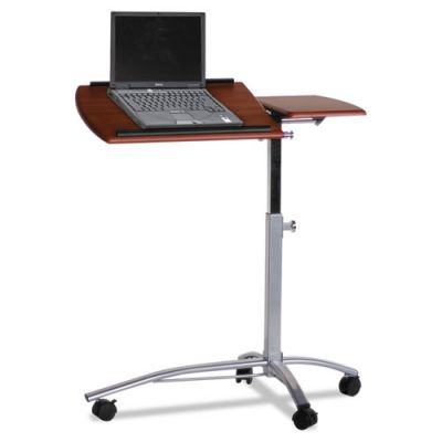 MLN950MEC - Tiffany Industries Laptop Computer Caddy; 29-1\/2w x 15d x 38h; Medium Cherry Laminate Top