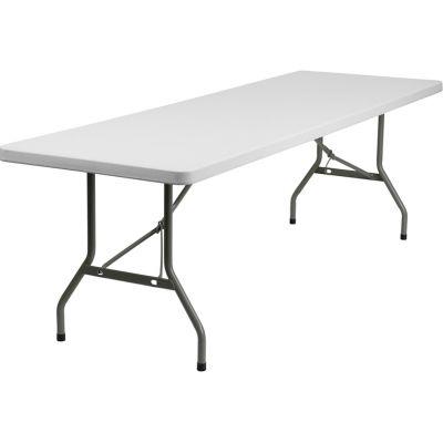 FHFDADYCZ244GWGG - Flash Furniture White Plastic folding table