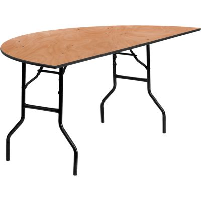 FHFYTWHRFT72HFGG - Flash Furniture Natural Wood folding table
