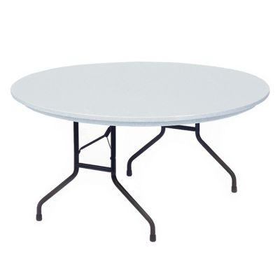 CRLRX60R23 - Correll Blow-Molded Tamper Resistant Round Folding Table