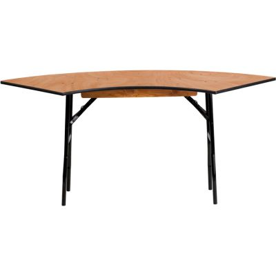 FHFYTWSFT4824SPGG - Flash Furniture Natural Wood folding table