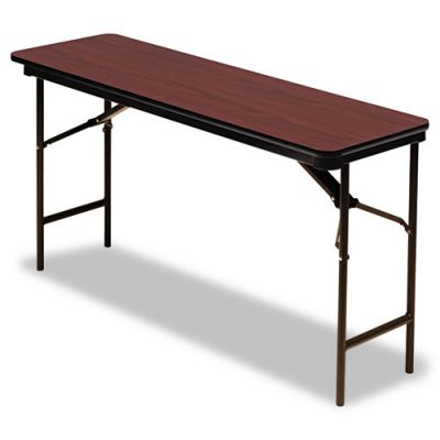 ICE55274 - Iceberg Premium Wood Laminate Rectangular Folding Table