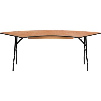 FHFYTWSFT6030SPGG - Flash Furniture Natural Wood folding table
