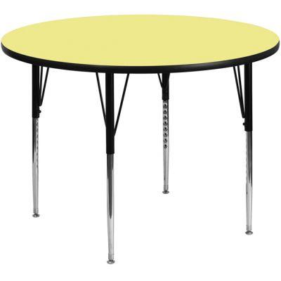 FHFXUA48RNDYELTAGG - Flash Furniture 48'' round activity table