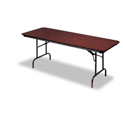 ICE55214 - Iceberg Premium Wood Laminate Rectangular Folding Table