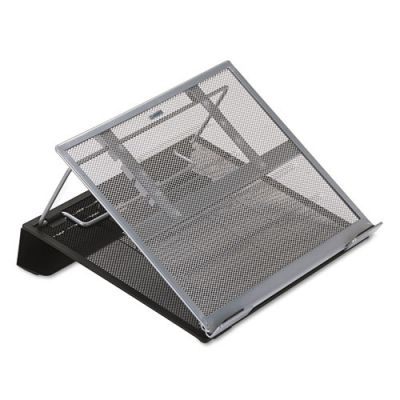 ROL82410 - Rolodex Mesh Laptop Stand with Cord Organizer