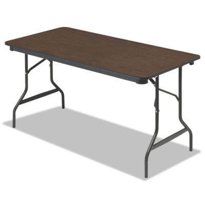 ICE55314 - Iceberg Economy Wood Laminate Rectangular Folding Table