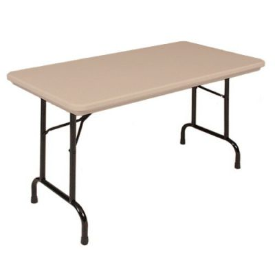 CRLRX244824 - Correll Blow-Molded Tamper Resistant Folding Table