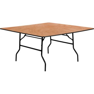 FHFYTWFFT60SQGG - Flash Furniture Natural Wood folding table