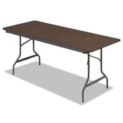 ICE55324 - Iceberg Economy Wood Laminate Rectangular Folding Table