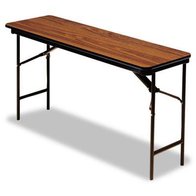 ICE55285 - Iceberg Premium Wood Laminate Rectangular Folding Table