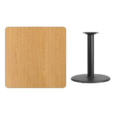 FHFXUNATTB3636TR24GG - Flash Furniture Square Natural Table Top