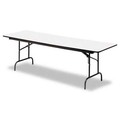 ICE55237 - Iceberg Premium Wood Laminate Rectangular Folding Table