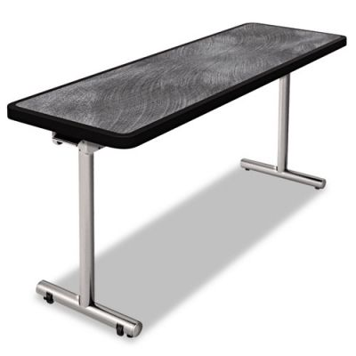 PHLAR2460PW - Nomad by Palmer Hamilton aero Mobile Folding Table; 60 x 24 x 29; Pewter