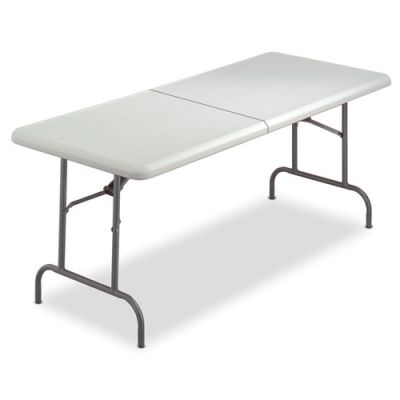 ICE65453 - Iceberg IndestrucTable Too Rectangular Bi-Fold Folding Table