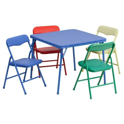 FHFJB9KIDGG - Flash Furniture Colorful folding table set