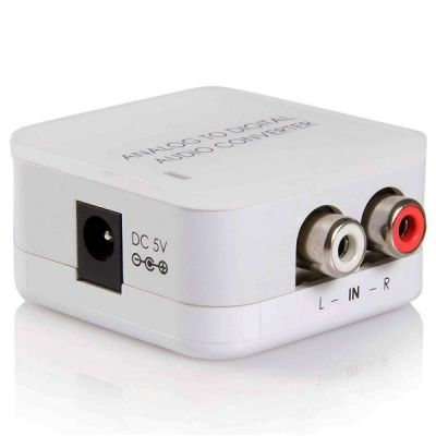 SYNX2434699 - StarTech.com Stereo RCA to SPDIF Digital Coaxial and Toslink Optical Audio Converter