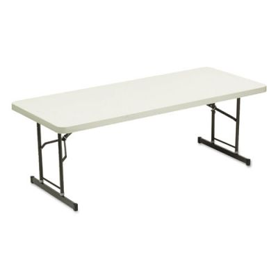 ICE65623 - Iceberg IndestrucTable Too Adjustable Height Rectangular Folding Table