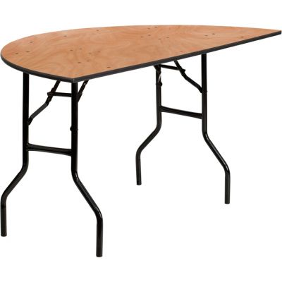 FHFYTWHRFT60HFGG - Flash Furniture Natural Wood folding table