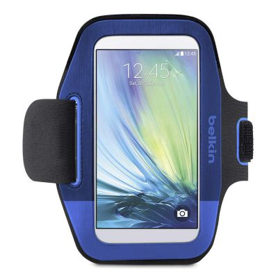 IGRMZZ1209 - Belkin Sport-Fit Carrying Case (Armband) for Smartphone - Blue
