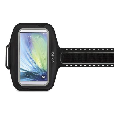 IGRMZZ1210 - Belkin Sport-Fit Plus Carrying Case (Armband) for Smartphone - Black