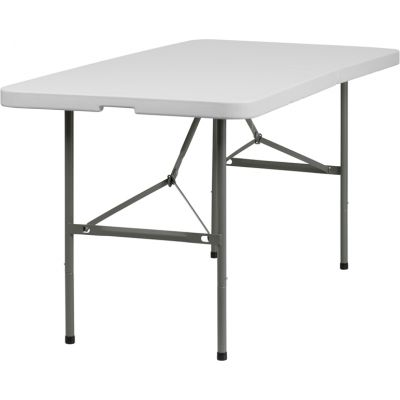 FHFDADYCZ152ZGG - Flash Furniture 30''W x 60''L Bi-Fold Folding Table