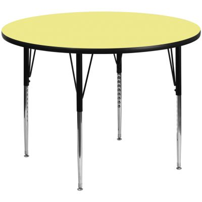 FHFXUA60RNDYELTAGG - Flash Furniture 60'' round activity table