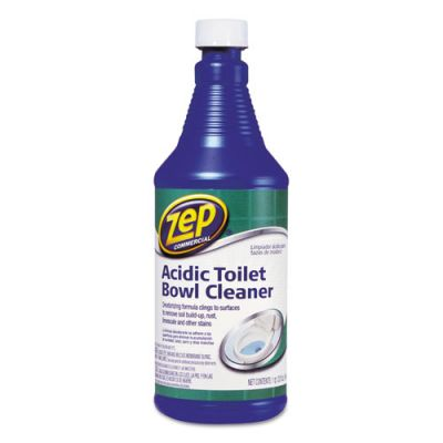 Zep Acidic Toilet Bowl Cleaner Zpezuatb32 Officesupply Com
