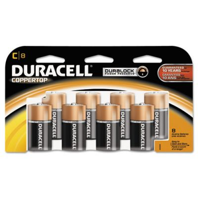 DURMN14RT8Z - Duracell Coppertop C Batteries