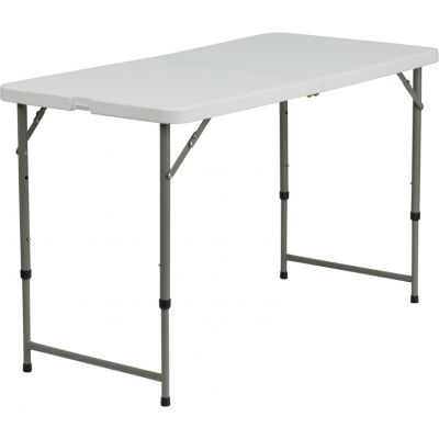 FHFDADYCZ122Z2GG - Flash Furniture Adjustable Folding Table