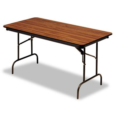 ICE55225 - Iceberg Premium Wood Laminate Rectangular Folding Table