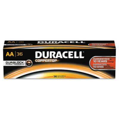 DURAACTBULK36 - Duracell Coppertop AA Batteries