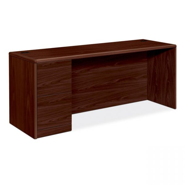 HON 10700 Series Single Pedestal Computer Desk