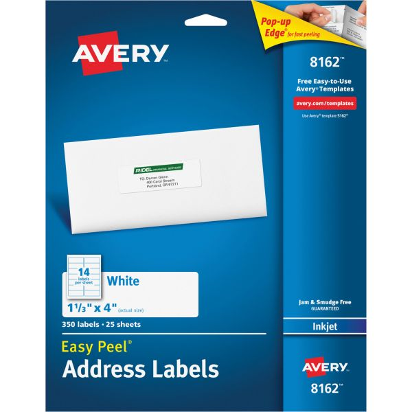 Avery 8162 Easy Peel Address Labels