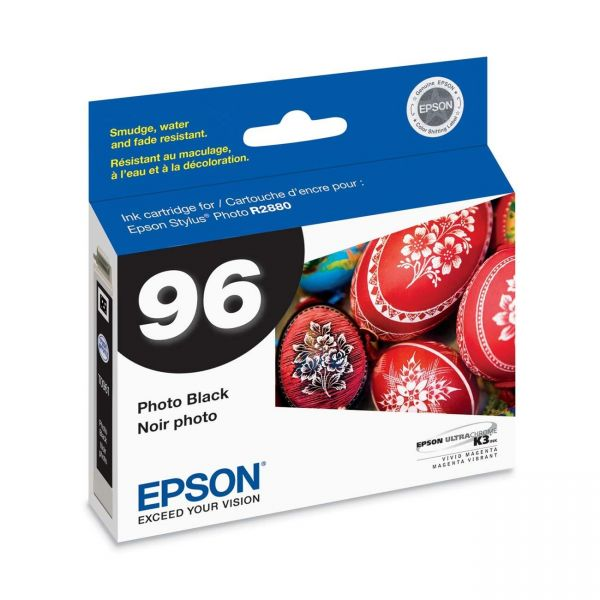 Epson T0961 Photo Black Ink Cartridge (T096120)