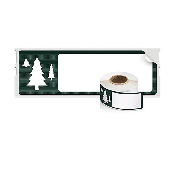 DYMO Green Holiday Labels