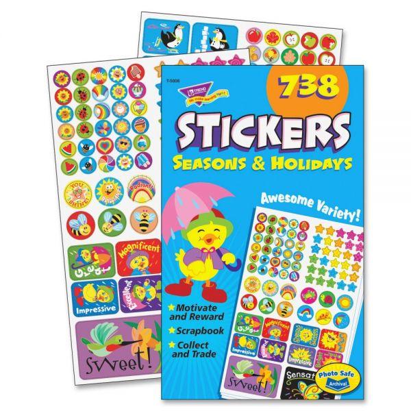 Trend Seasons & Holidays Sticker Pad