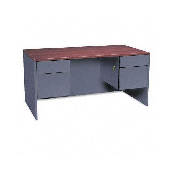 Global Adaptabilities Double Pedestal Computer Desk