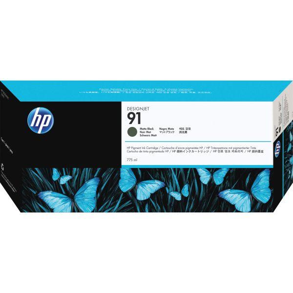 HP 91 Matte Black Ink Cartridge (C9464A)