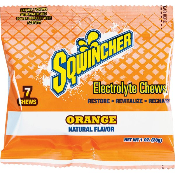 Sqwincher Flavored Electrolyte Chews