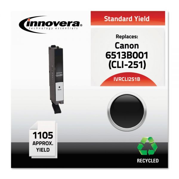Innovera Remanufactured Canon CLI-251B (6513B001) Ink Cartridge