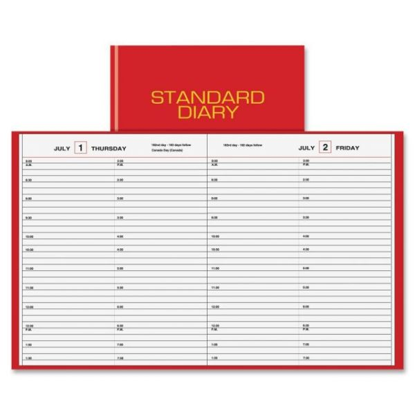 At-A-Glance Standard Daily Diary Appointment Book