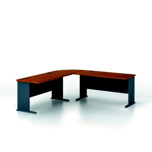 bbf Series A Administrative Configuration - Natural Cherry finish by Bush Furniture