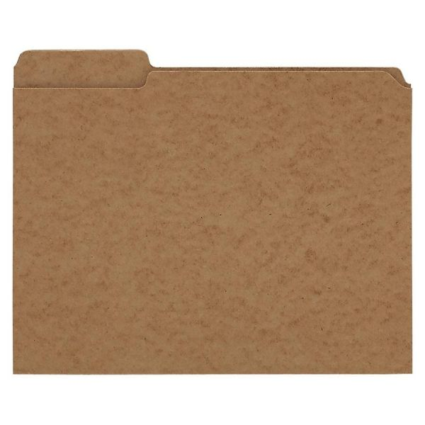 Pendaflex Brown Colored File Folders