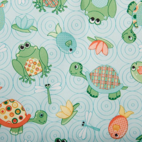 "Babyville PUL Waterproof Diaper Fabric 64"" Wide 6yd D/R"
