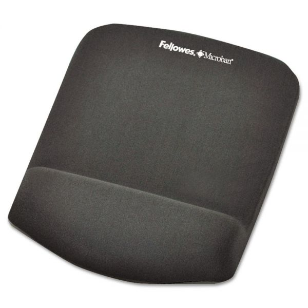 Fellowes PlushTouch Mouse Pad with Foam Wrist Rest