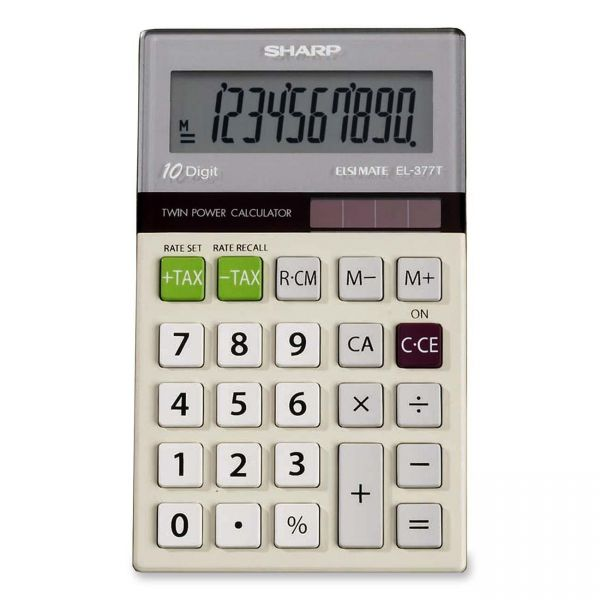 Sharp Calculators EL377G Pocket Calculator