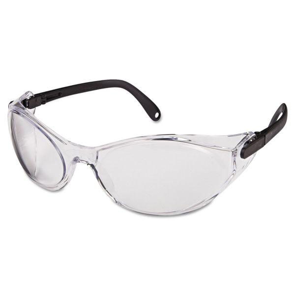 Uvex by Honeywell Bandido Safety Eyewear, Frameless, Clear Lens, Nylon/Polycarbonate