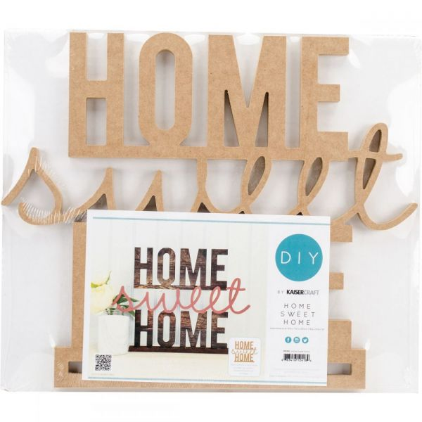 Beyond The Page MDF Home Sweet Home Standing Words